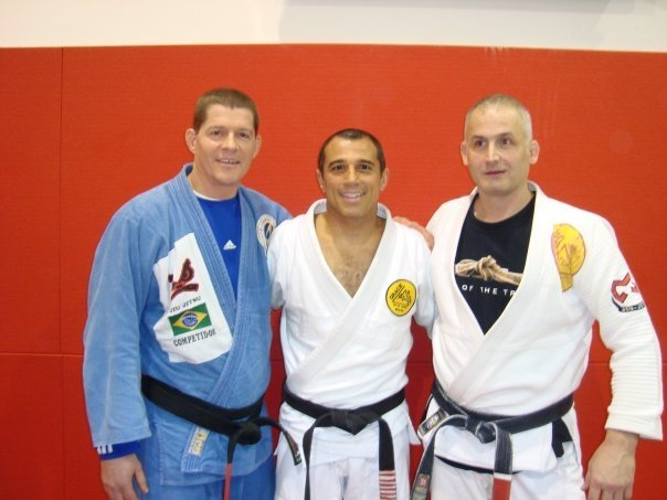 Gracie Jiu-Jitsu Royler Gracie, Trevor Clarkson, Gary Herman tacticalfighting.ca
